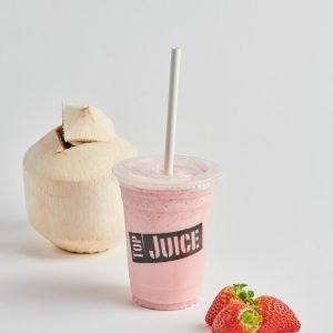 Strawberry Cream Dairy Free Smoothie