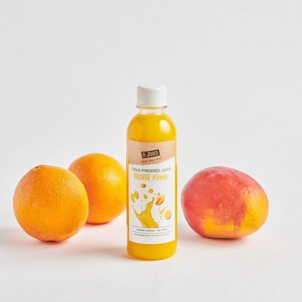 Cold Pressed Orange Mango Juice