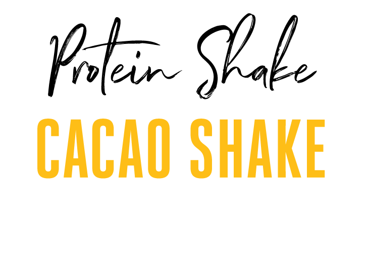 Cacao Protein Shake