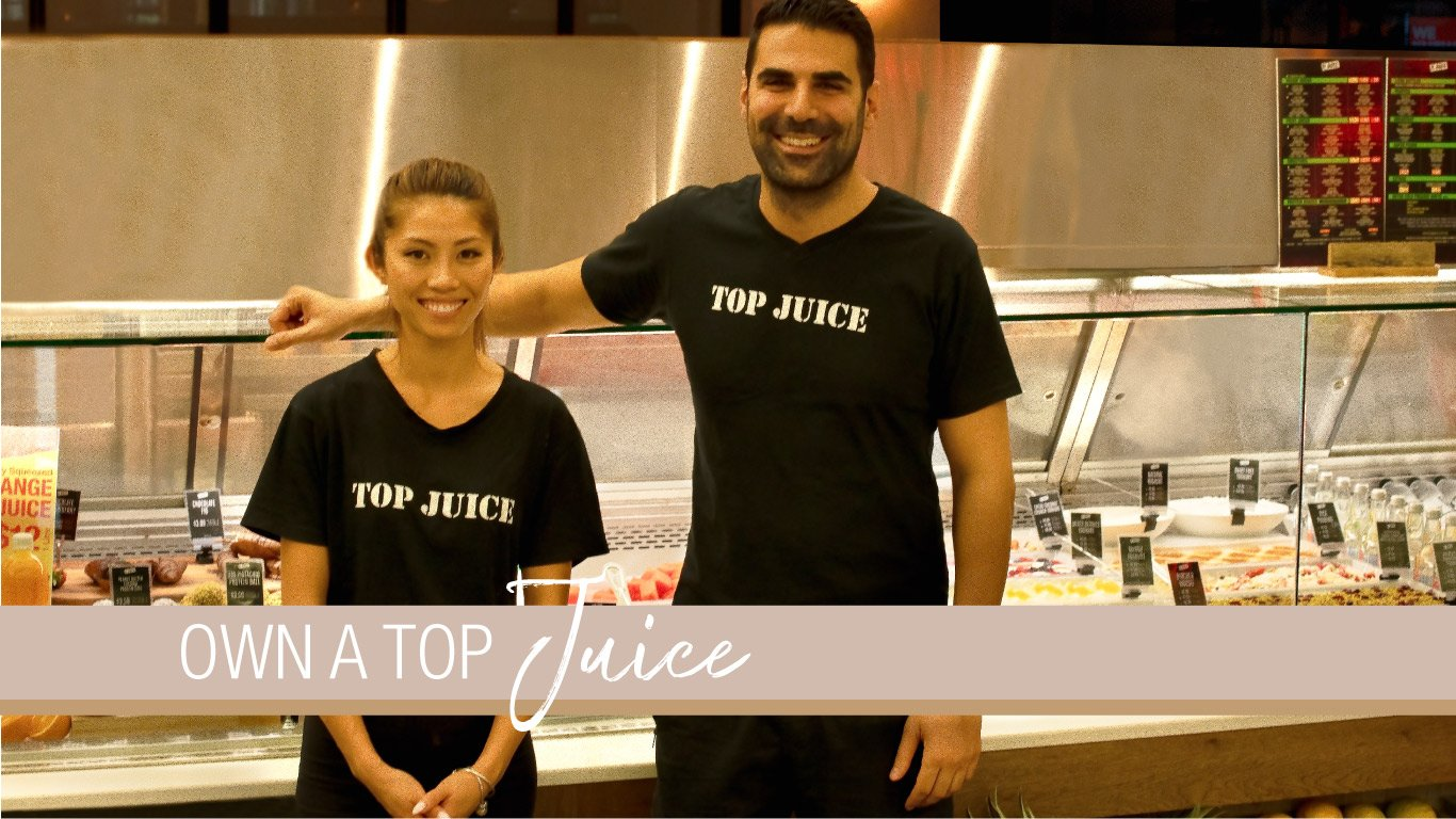 Own a Top Juice Banner